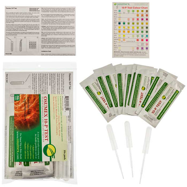 10-P(parameters) Urine Analysis-complete materials and kit