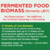 LB17 live probiotic biomass-back