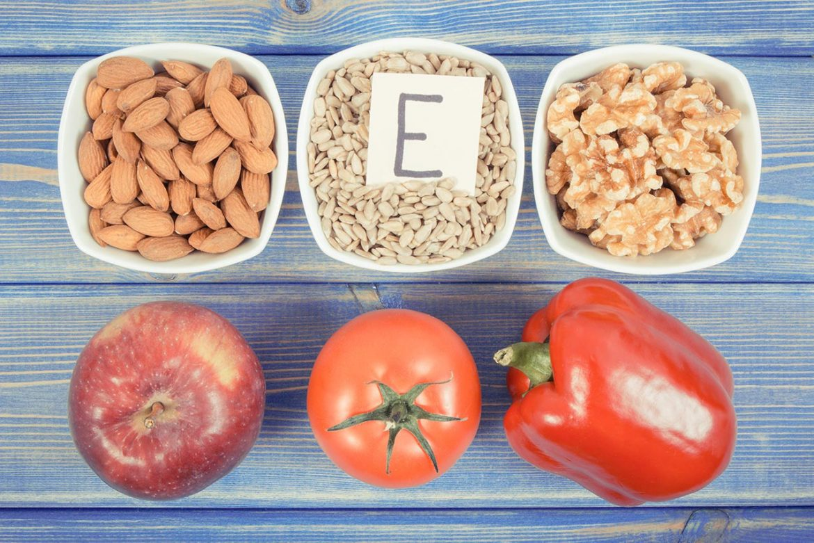 products ingredients containing vitamin E